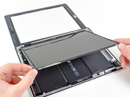 Как заменить аккумулятор на планшете ipad